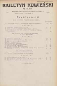 Biuletyn Kowieński Wilbi. 1932, nr 640 (6 kwietnia)