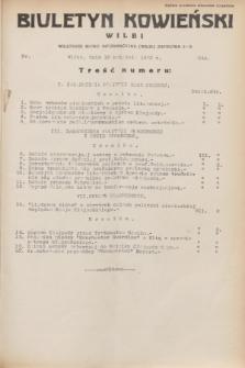 Biuletyn Kowieński Wilbi. 1932, nr 644 (13 kwietnia)