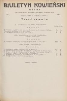 Biuletyn Kowieński Wilbi. 1932, nr 649 (21 kwietnia)