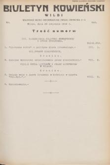 Biuletyn Kowieński Wilbi. 1932, nr 650 (22 kwietnia)