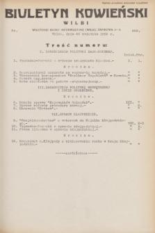Biuletyn Kowieński Wilbi. 1932, nr 652 (25 kwietnia)