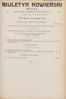 Biuletyn Kowieński Wilbi. 1932, nr 656 (30 kwietnia)