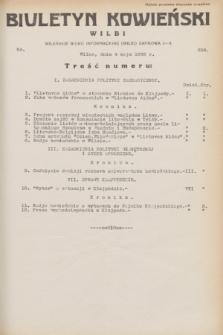 Biuletyn Kowieński Wilbi. 1932, nr 658 (4 maja)