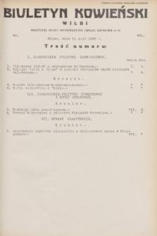 Biuletyn Kowieński Wilbi. 1932, nr 661 (11 maja)