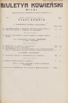 Biuletyn Kowieński Wilbi. 1932, nr 662 (12 maja)