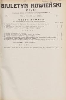 Biuletyn Kowieński Wilbi. 1932, nr 663 (13 maja)