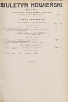 Biuletyn Kowieński Wilbi. 1932, nr 664 (14 maja)