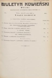 Biuletyn Kowieński Wilbi. 1932, nr 668 (21 maja)