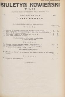 Biuletyn Kowieński Wilbi. 1932, nr 671 (27 maja)
