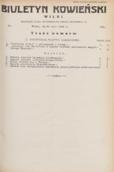 Biuletyn Kowieński Wilbi. 1932, nr 672 (30 maja)