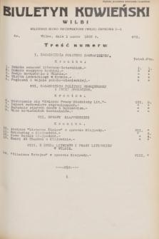 Biuletyn Kowieński Wilbi. 1932, nr 673 (1 czerwca)