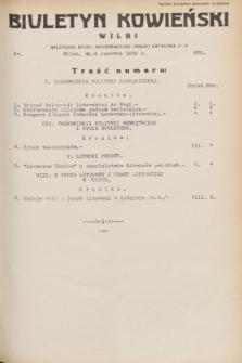Biuletyn Kowieński Wilbi. 1932, nr 675 (4 czerwca)
