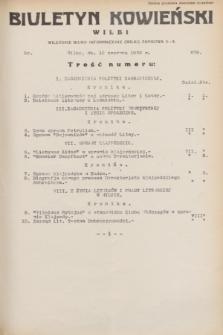 Biuletyn Kowieński Wilbi. 1932, nr 678 (10 czerwca)