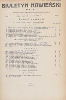Biuletyn Kowieński Wilbi. 1932, nr 689 (30 czerwca)