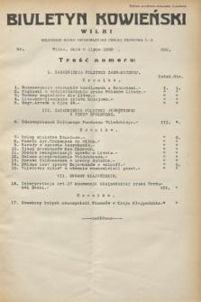 Biuletyn Kowieński Wilbi. 1932, nr 692 (5 lipca)