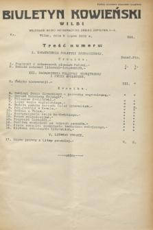 Biuletyn Kowieński Wilbi. 1932, nr 693 (6 lipca)