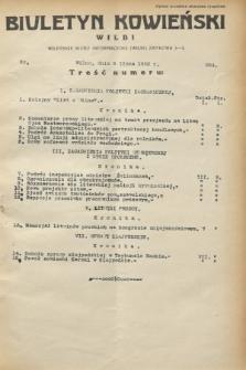 Biuletyn Kowieński Wilbi. 1932, nr 694 (8 lipca)