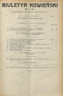 Biuletyn Kowieński Wilbi. 1932, nr 697 (15 lipca)