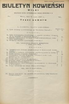Biuletyn Kowieński Wilbi. 1932, nr 700 (20 lipca)