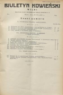 Biuletyn Kowieński Wilbi. 1932, nr 702 (27 lipca)