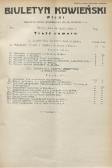 Biuletyn Kowieński Wilbi. 1932, nr 703 (28 lipca)