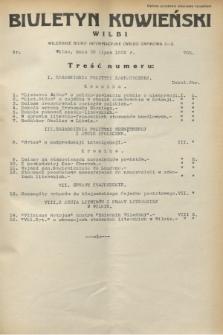 Biuletyn Kowieński Wilbi. 1932, nr 705 (30 lipca)
