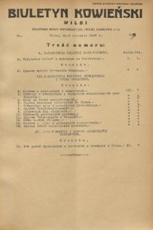 Biuletyn Kowieński Wilbi. 1932, nr 709 (8 sierpnia)