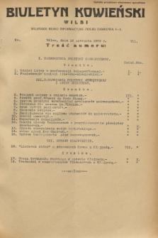 Biuletyn Kowieński Wilbi. 1932, nr 711 (12 sierpnia)