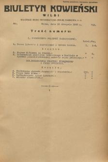 Biuletyn Kowieński Wilbi. 1932, nr 712 (18 sierpnia)