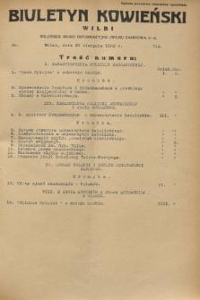 Biuletyn Kowieński Wilbi. 1932, nr 714 (20 sierpnia)