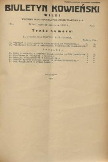 Biuletyn Kowieński Wilbi. 1932, nr 715 (22 sierpnia)