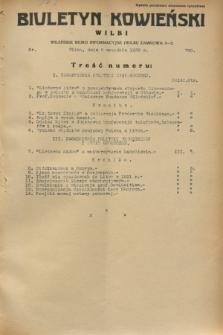 Biuletyn Kowieński Wilbi. 1932, nr 720 (5 września)