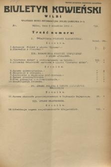 Biuletyn Kowieński Wilbi. 1932, nr 723 (9 września)