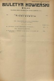 Biuletyn Kowieński Wilbi. 1932, nr 724 (12 września)