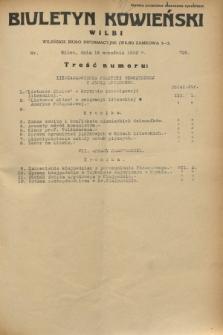 Biuletyn Kowieński Wilbi. 1932, nr 726 (16 września)