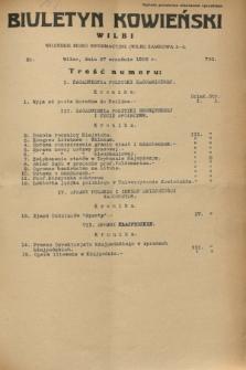 Biuletyn Kowieński Wilbi. 1932, nr 730 (27 września)