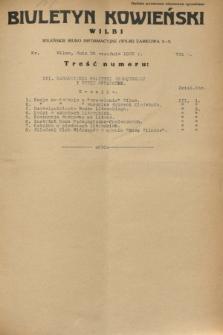 Biuletyn Kowieński Wilbi. 1932, nr 731 (28 września)