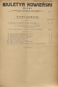 Biuletyn Kowieński Wilbi. 1932, nr 734 (5 października)