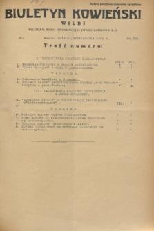Biuletyn Kowieński Wilbi. 1932, nr 736 (8 października)
