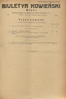 Biuletyn Kowieński Wilbi. 1932, nr 738 (11 października)