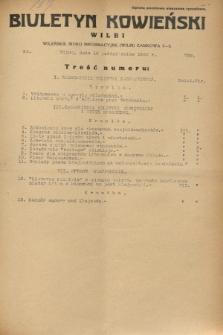 Biuletyn Kowieński Wilbi. 1932, nr 739 (12 października)