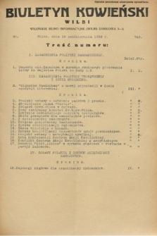 Biuletyn Kowieński Wilbi. 1932, nr 743 (19 października)