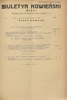 Biuletyn Kowieński Wilbi. 1932, nr 744 (20 października)