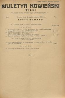 Biuletyn Kowieński Wilbi. 1932, nr 745 (21 października)