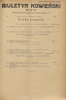 Biuletyn Kowieński Wilbi. 1932, nr 752 (3 listopada)
