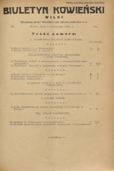 Biuletyn Kowieński Wilbi. 1932, nr 755 (7 listopada)