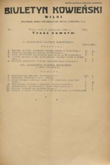 Biuletyn Kowieński Wilbi. 1932, nr 756 (8 listopada)