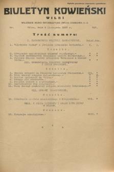 Biuletyn Kowieński Wilbi. 1932, nr 757 (9 listopada)