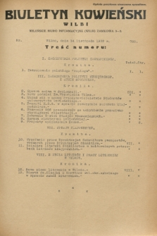 Biuletyn Kowieński Wilbi. 1932, nr 760 (14 listopada)