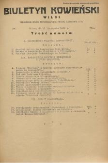 Biuletyn Kowieński Wilbi. 1932, nr 761 (17 listopada)
